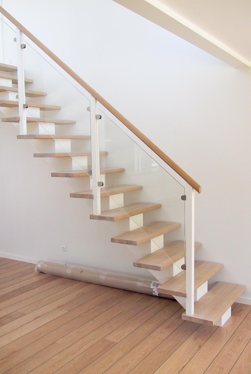trappe med centervange